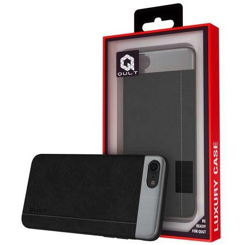 Etui QULT Back Case Slate do iPhone 7/8 Plus Czarny, kolor czarny