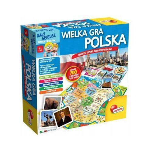 Mały geniusz, wielka gra - polska - darmowa dostawa od 199 zł!!! marki Liscianigiochi