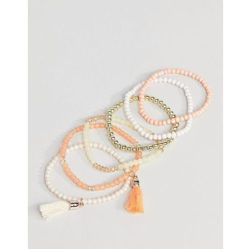 South Beach Orange Multi Bracelet Pack - Multi