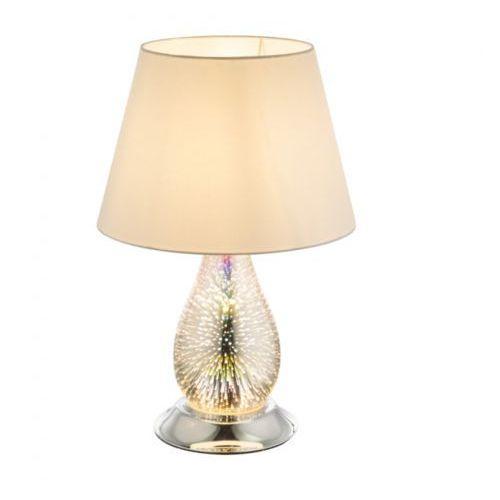Globo lighting Globo elias lampa stołowa chrom, 2-punktowe - nowoczesny - obszar wewnętrzny - elias - czas dostawy: od 6-10 dni roboczych (9007371350438)