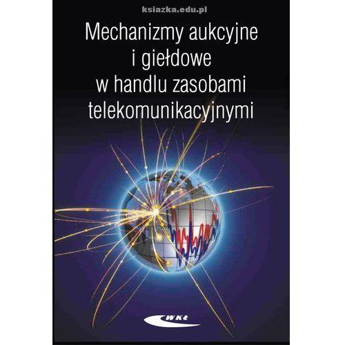 Mechanizmy aukcyjne i giełdowe w handlu zasobami telekomunikacyjnymi (164 str.)