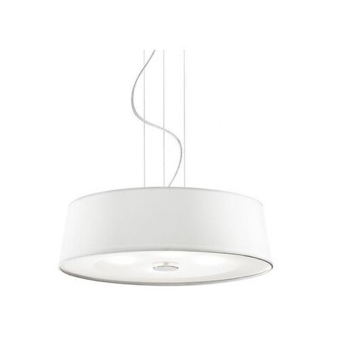Lampa wisząca HILTON SP4 ROUND BIANCO, kolor Srebrny,