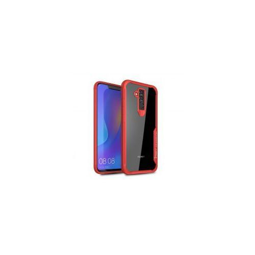 iPaky Survival żelowy pokrowiec wzmocnione etui Huawei Mate 20 Lite czerwony, kolor czerwony