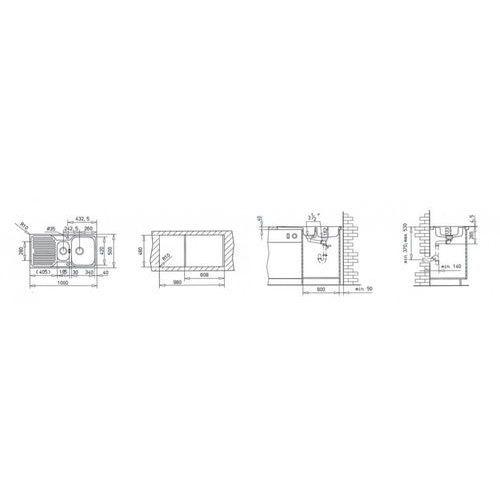 Zlewozmywak TEKA PRINCESS 1 1/2C. MTX 30000173 30000173 - odbiór w 2000 punktach - Salony, Paczkomaty, Stacje Orlen (8421152126714)