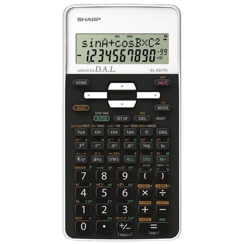 Sharp Kalkulator el-531th biały (4974019917092)
