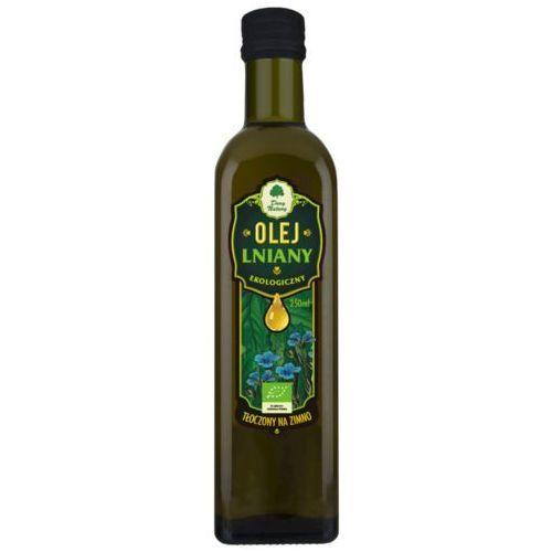Dary natury - inne bio Olej lniany virgin bio 250 ml - dary natury (5902581616180)