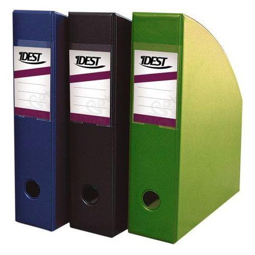 Pojemnik na dokumenty a4/7cm zielony marki Idest