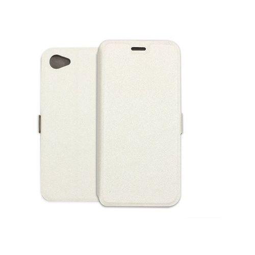 HTC Desire 12 - etui na telefon Wallet Book - biały