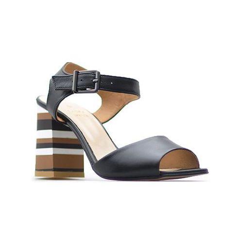 Sandały Laura Messi 1755/142 Czarne lico