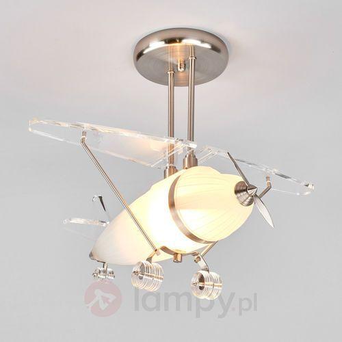 FLYA ozdobna lampa wisząca w kształcie samolotu (5013874246028)