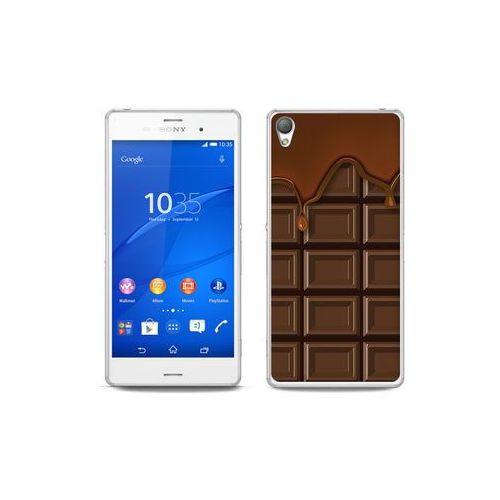 etuo Fantastic Case - Sony Xperia Z3 - etui na telefon Fantastic Case - tabliczka czekolady