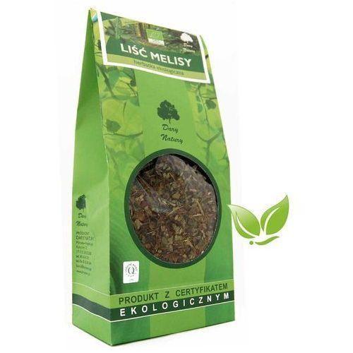 Dary natury - herbatki bio Herbatka liść melisy bio 100 g melisa dary natury (5902741007872)