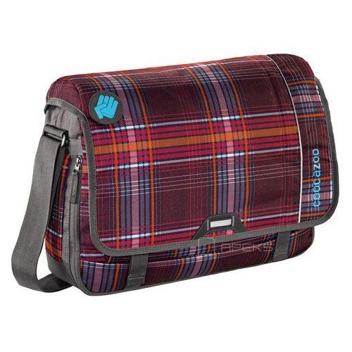 """Coocazoo hangdang ii torba na ramię - laptop 15,6"""" / walk the line purple - walk the line purple"""
