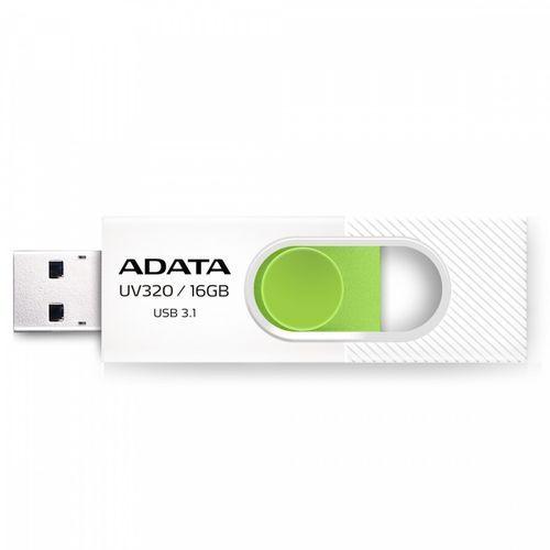 Adata UV320 16GB USB3.1 Biało-zielony (4713218462794)