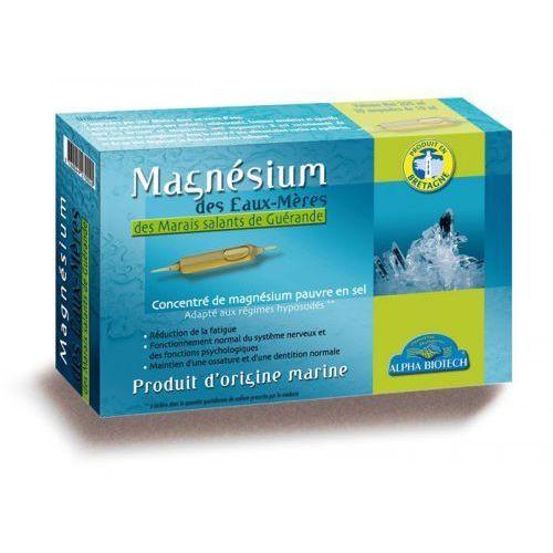 Naturalny Magnez Macierzysty w ampułkach 20 szt. ALPHA BIOTECH