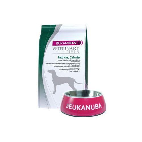 EUKANUBA Restricted Calorie 12kg + Miska Eukanuba GRATIS!