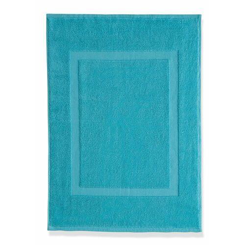Mata łazienkowa hotelowa (2 szt.) niebieskozielony marki Bonprix