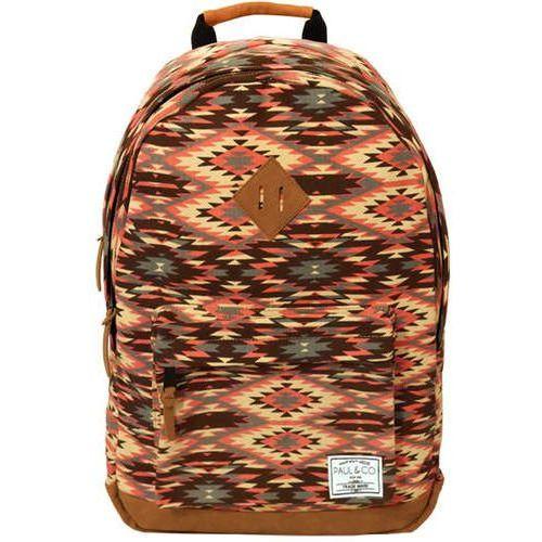 Plecak 18x32xH46 27L różowy aztecki
