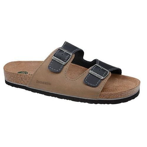 Klapki buty Dr BRINKMANN 600308-8 Multi - Beżowy   Granatowy   Multikolor (4053519395286)