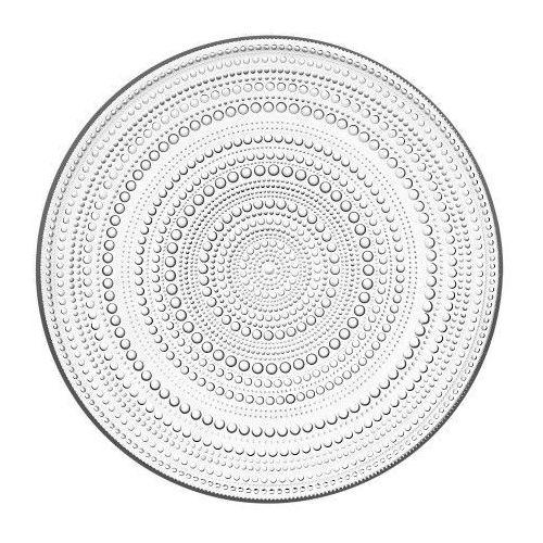 Kastehelmi talerz 31,5 cm, przezroczysty - Iittala, 1007340