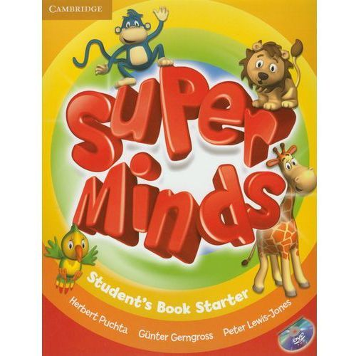 Super Minds Starter Student's Book (podręcznik) with DVD-ROM (112 str.)