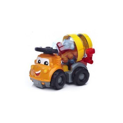 Mega Bloks Pojazd Betoniarka Mike + klocki First Builders* - produkt z kategorii- Betoniarki zabawki
