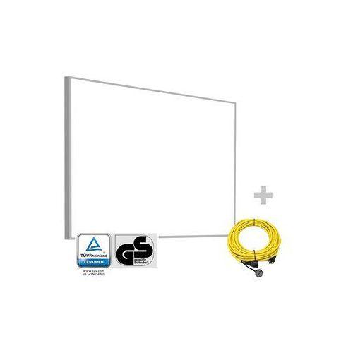 Płytowy promiennik podczerwieni tih 900 s + przedłużacz profi 20 m / 230 v / 2,5 mm² marki Trotec
