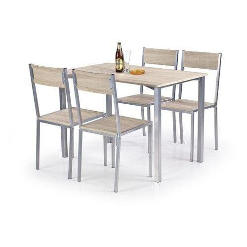 Zestaw  ralph stół + 4 krzesła marki Halmar