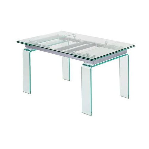 King home Stół szklany atlantis clear 200/300 - szkło (5900168808324)