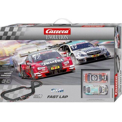 Carrera Tor wyścigowy  evolution dtm szybkie okrążenie dtm fast lap 20025220, zestaw startowy