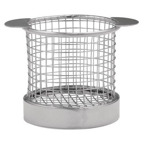 Koszyk do frytek okrągły | 80(h)x 80(ø) marki Olympia