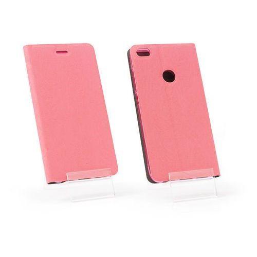Huawei P9 Lite (2017) - etui na telefon Flex Book - różowy, kolor różowy