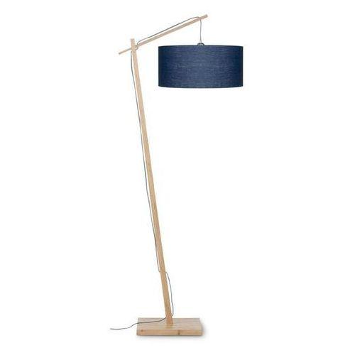 Andes-lampa podlogowa bambus & len naturalny wys.176cm marki Good & mojo