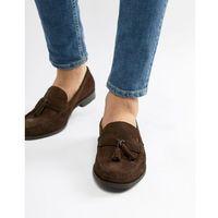 loafers tassel loafers in brown suede - brown marki Ben sherman
