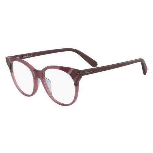 Salvatore ferragamo Okulary korekcyjne sf 2796 639