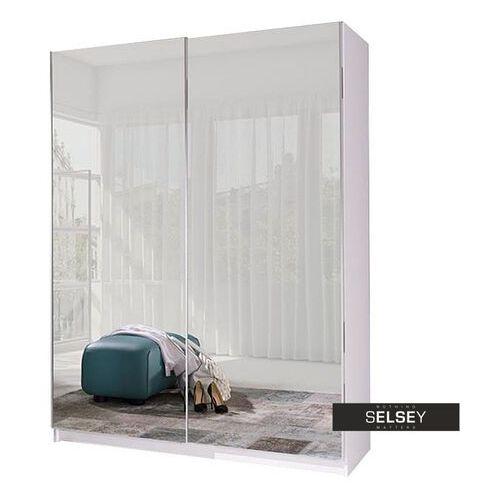 Selsey szafa przesuwna zaube z lustrem 150 cm (5903025500430)