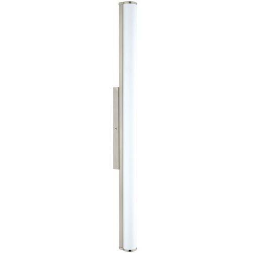 Kinkiet LAMPA ścienna CALNOVA 94717 Eglo szklana OPRAWA minimalistyczna LED 16W do łazienki IP44 biała