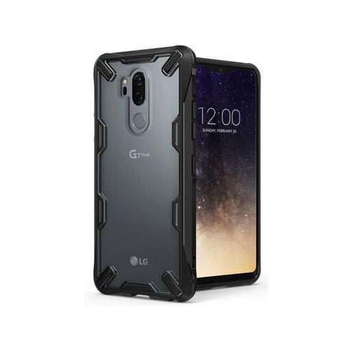 Etui Ringke Fusion X LG G7 ThinQ Black + 3x Szkło I.D.