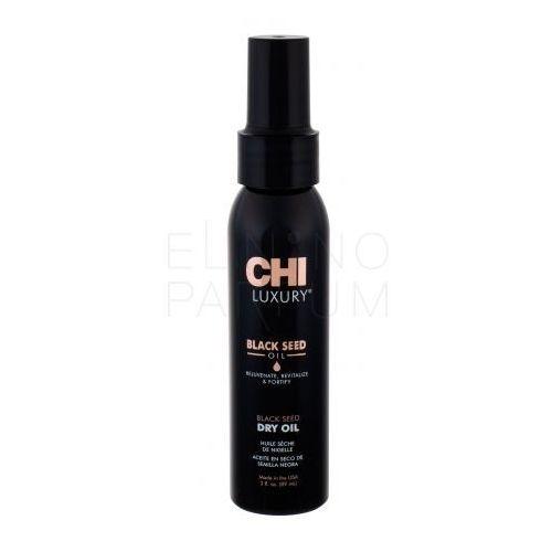 Farouk Systems CHI Luxury Black Seed Oil olejek i serum do włosów 89 ml dla kobiet