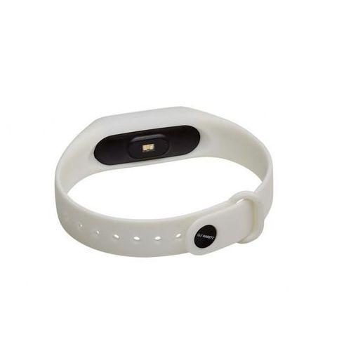 opaska sportowa, smartband fit7 biały marki Garett