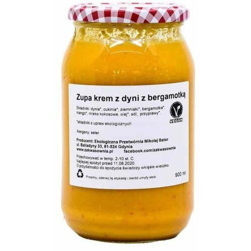Zakwasownia Zupa krem z dyni z bergamotką bio 900 ml -