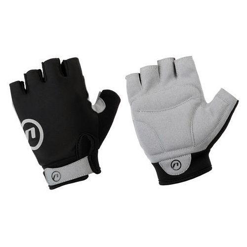 610-80-90_acc-m rękawiczki rowerowe blacky czarno-szare m marki Accent