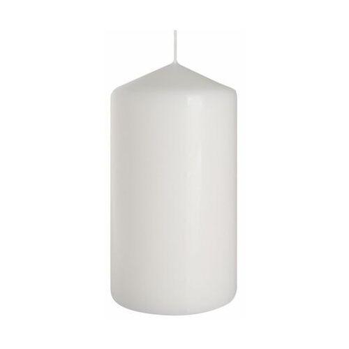 Świeca pieńkowa biała wys. 15 cm