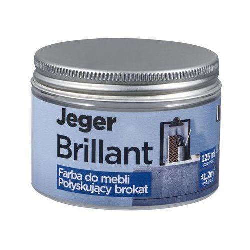 Jeger Farba do mebli brillant 125 ml carbon połyskujący brokat (5902166638002)
