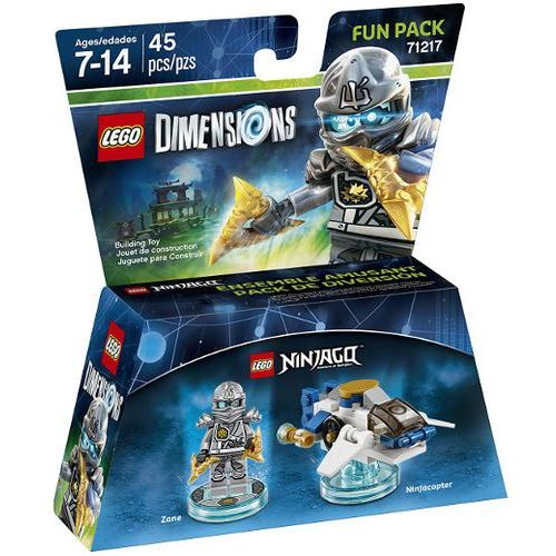 Lego dimensions - lego movie fun pack 71217 zane marki Avalanche studios