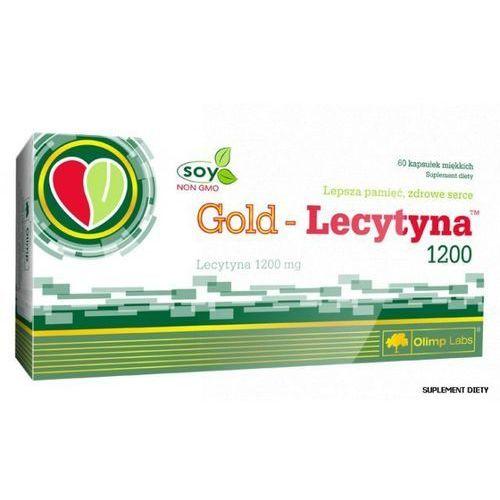 OLIMP Gold Lecytyna 1200 mg 60 kaps. (5901330009563)