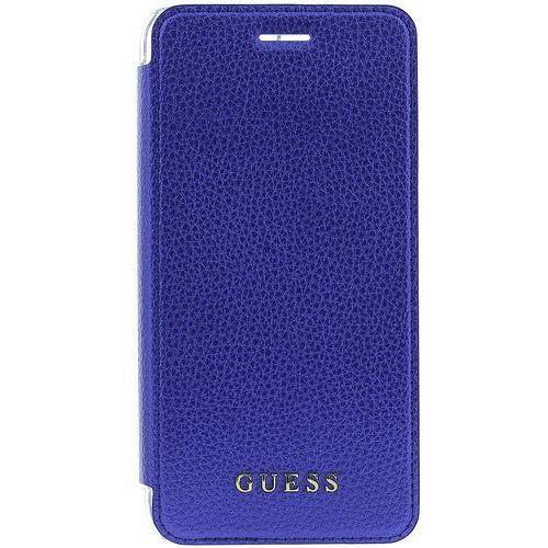 Guess etui z klapką IriDescent Apple iPhone 6/6S/7 Plus, niebieski (3700740398036)