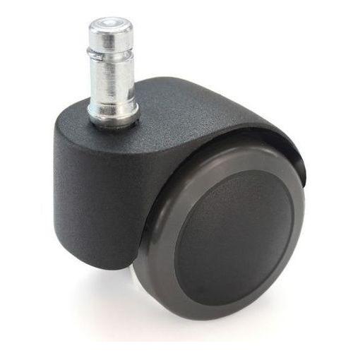 Proroll Rolka do krzesła,z bolcem wtykowym z pierścieniem zaciskowym, czarne, opak. 5 szt.