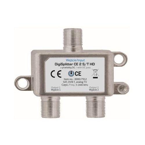 Rozdzielacz antenowy TECHNISART CE 2 S/T HD (4019588079120)