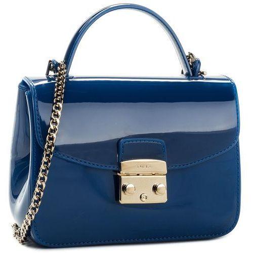 Torebka FURLA - Candy 941248 B BOC3 PL0 Blu Pavone d, kolor niebieski